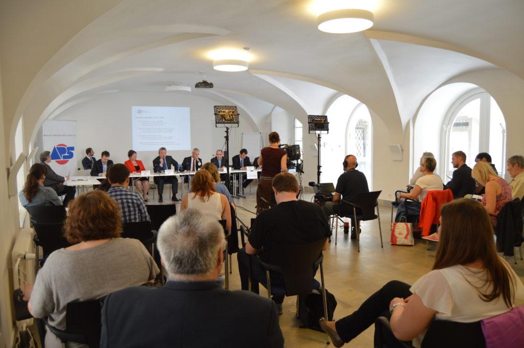 Tisková konference APS ČR 23. 5. 2016